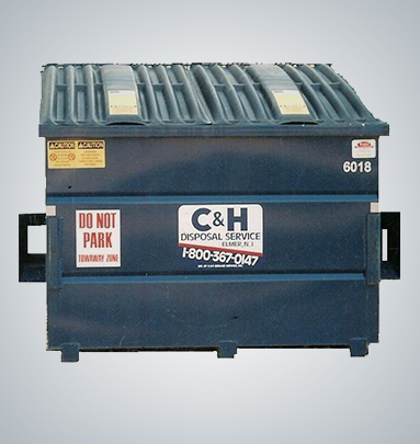 Front-load dumpsters